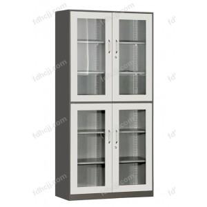 上下玻璃对开柜