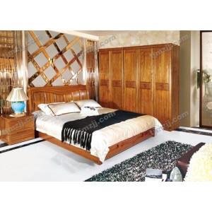 明泽御匠特价套房组合 卧室五件套装