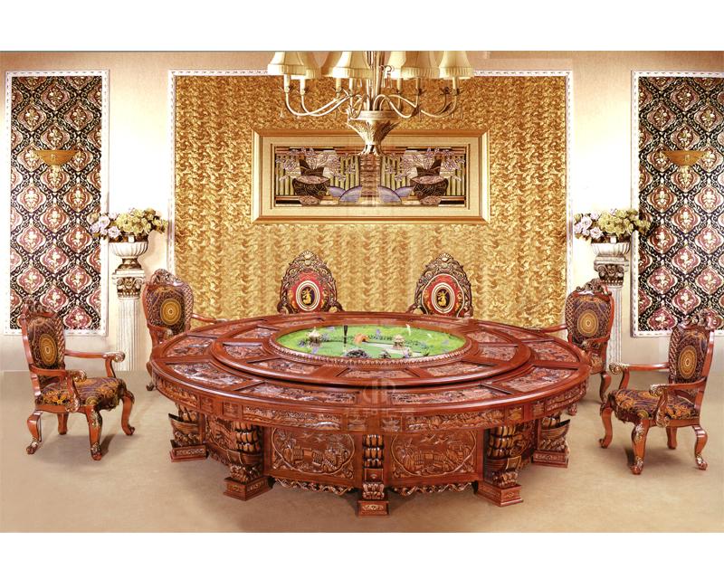 香河汇景 酒店餐桌餐椅 休闲吃饭靠背椅