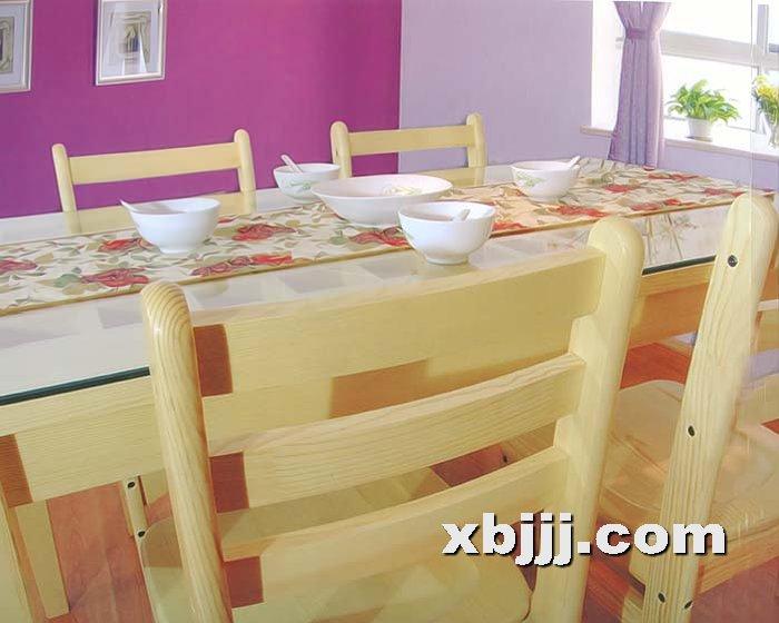 全实木创意原木胡桃木色餐桌