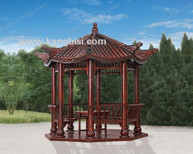 香河园林景观八角亭  木屋定制  厂家直供中式木亭 批发凉亭