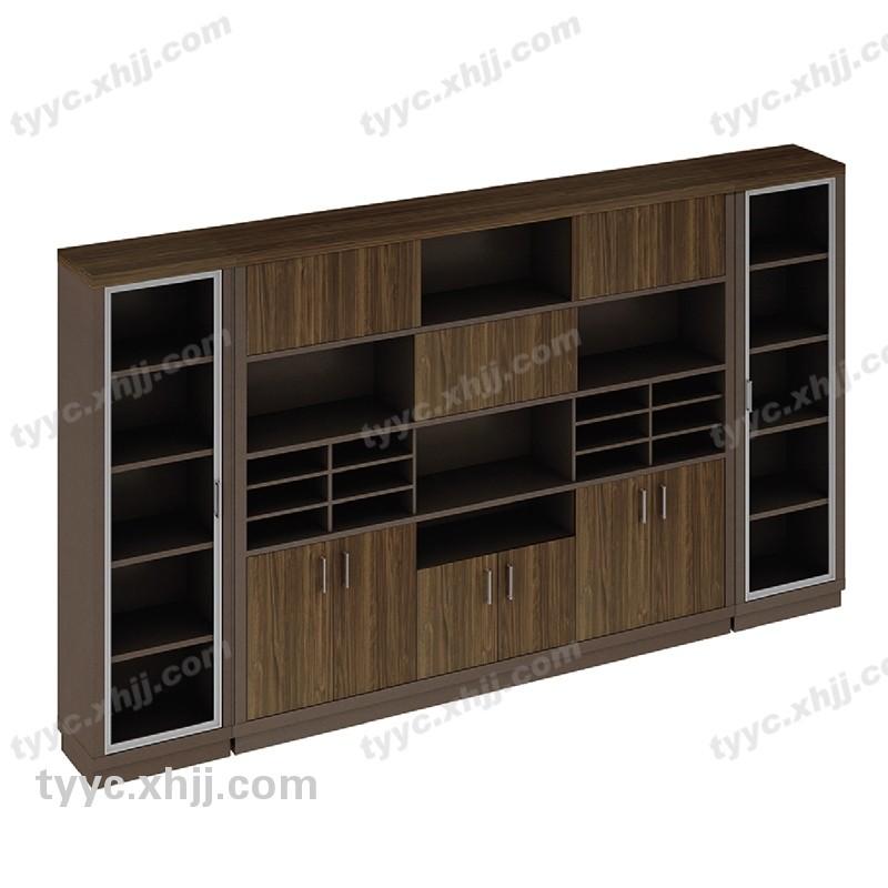 木制书柜 板式文件柜 资料柜73