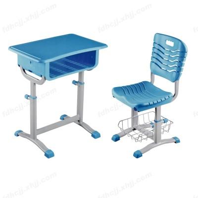 河北富都华创培训班学生书桌椅带置物架18
