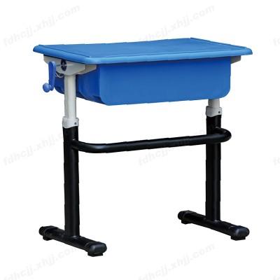 河北中小学生手摇升降课桌 单人椅05