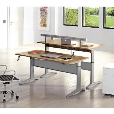 河北富都华创可升降电脑桌桌架04