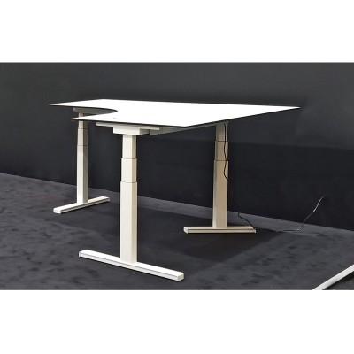 河北坐站两用式转角办公桌桌架08