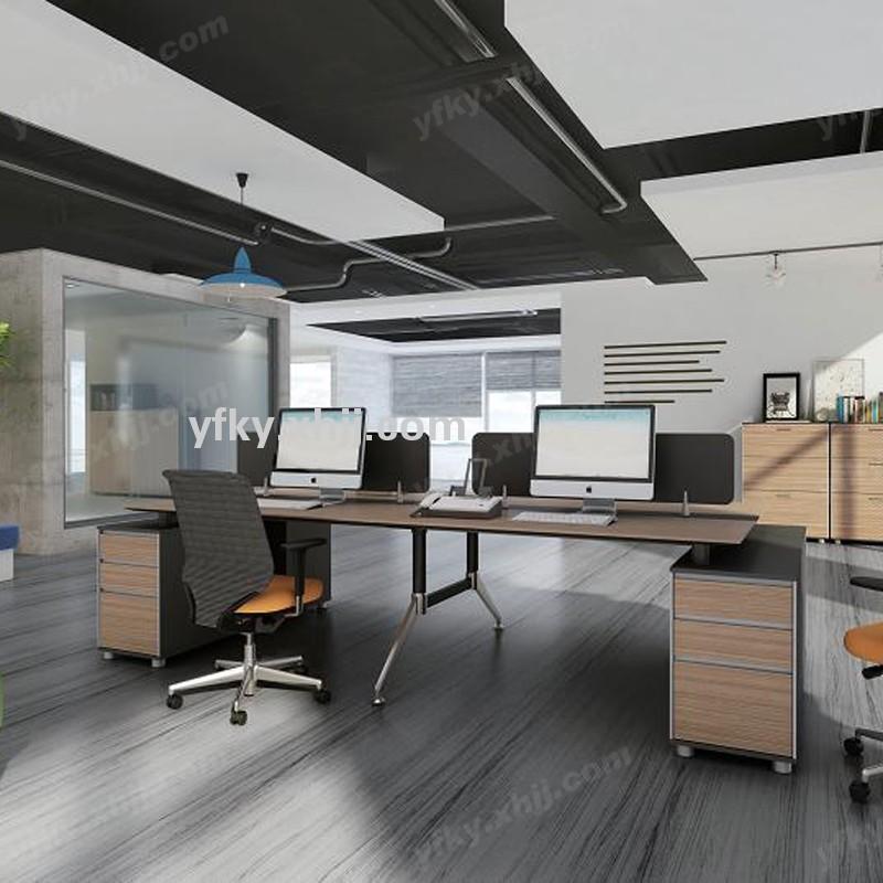 香河银丰科艺屏风组合桌 现代员工隔断桌