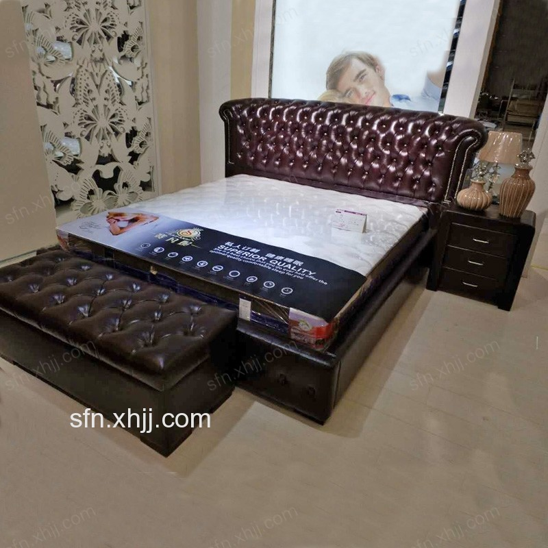 香河赛凡妮软床双人床 软床 大户型卧室床