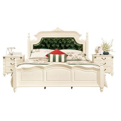 OP纯正美式板木床