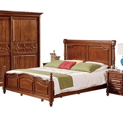 OP纯正美式全实木床