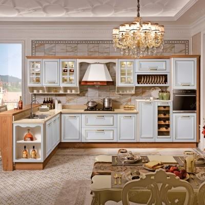 北京整体厨房装修L型