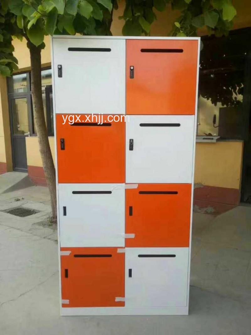 雅格轩办公家具彩色八门储物柜