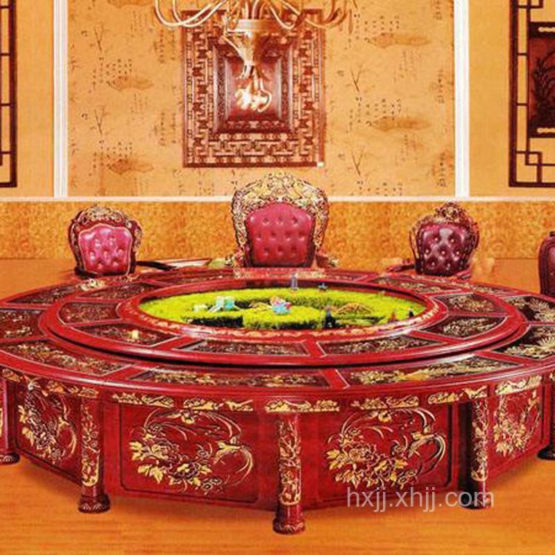 酒店餐桌01